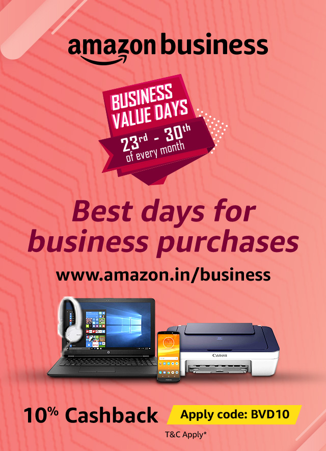 Orbit Up To 10 Cashback On Amazon Business Business Value Days