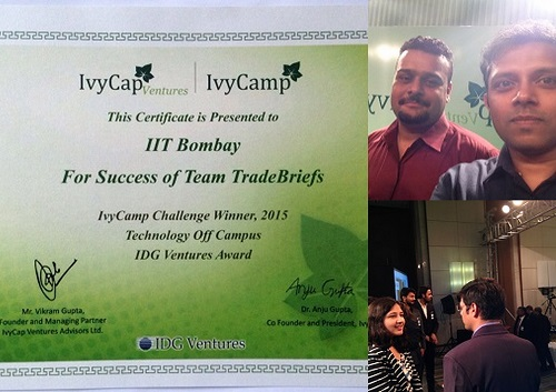 ivycamp tradebriefs award